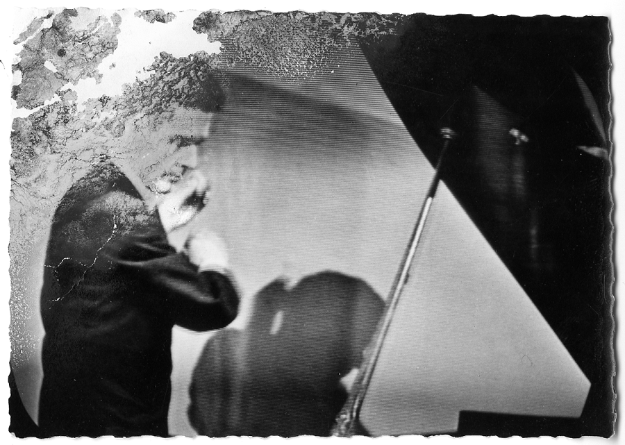 John Cage in action [John Cage Collection, Northwestern University (Evanston, IL