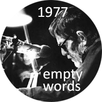 Empty Words 1977